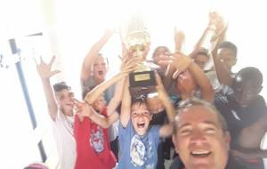 U13 : Champions du District de Gironde